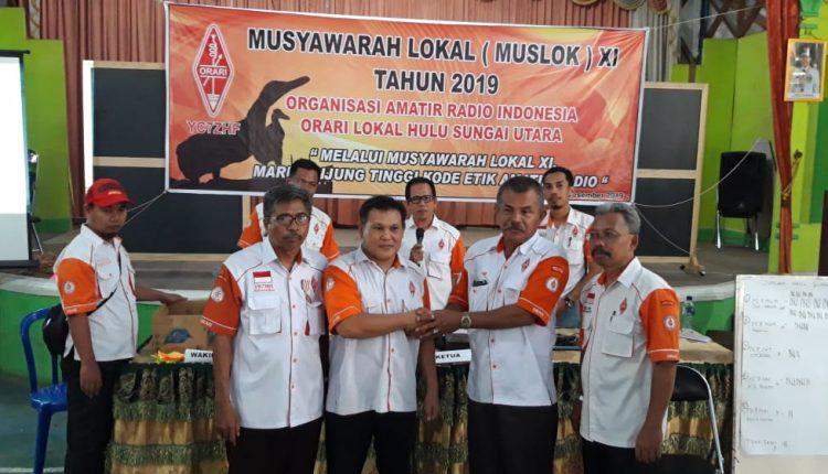 Musyawarah Lokal Ke-9 ORARI Lokal Hulu Sungai Utara Tahun 2019