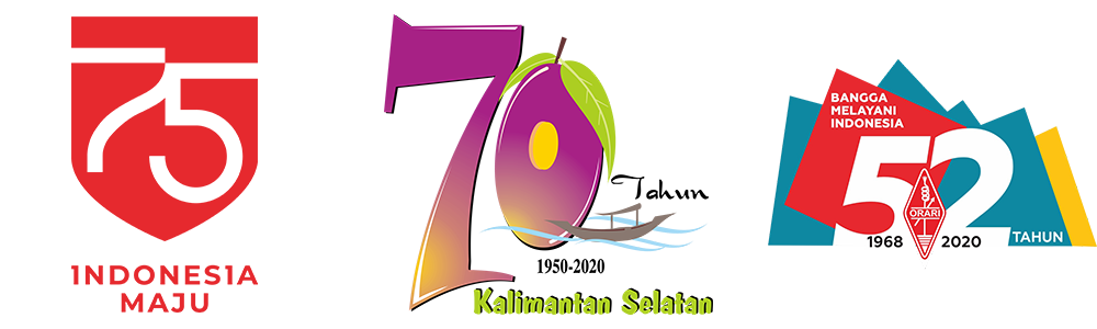Logo Hari Proklamasi Ke-75 Republik Indonesia
